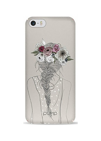 Купить чехол  Pump Tender Touch Case для iPhone 5/5S/SE Flowers in Hair за 219 грн в Интернет-магазине Kasta - Киев, Украина (136993541)