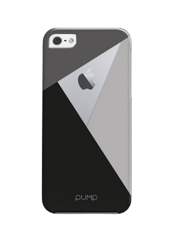 Купить чехол  Pump Transperency Case для iPhone 5/5S/SE Black/Gray за 219 грн в Интернет-магазине Kasta - Киев, Украина (136993836)