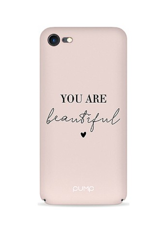 Купить чехол  Pump Tender Touch Case для iPhone 8/7 You Are Beautiful за 339 грн в Интернет-магазине Kasta - Киев, Украина (136994000)