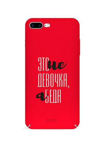 Купить чехол  Pump Tender Touch Case для iPhone 8 Plus/7 Plus Girl Trouble за 379 грн в Интернет-магазине Kasta - Киев, Украина (136993736)