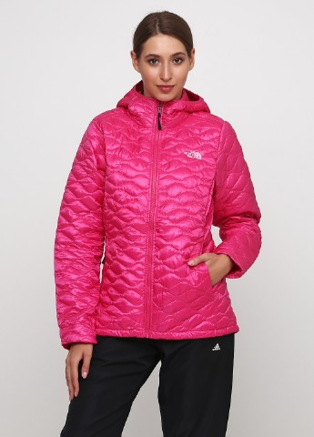 Розовая демисезонная куртка    The North Face