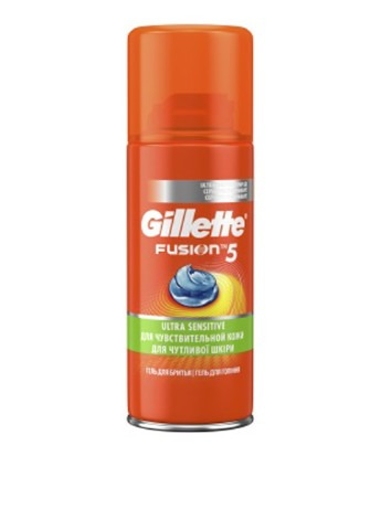 Гель для бритья Gillette Fusion 5 Ultra Sensitive, 75 мл Gillette