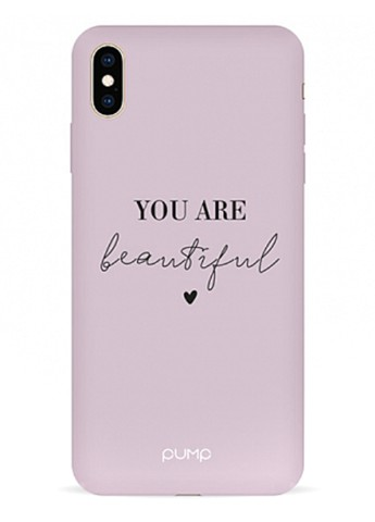 Купить чехол  Pump Silicone Minimalistic Case для iPhone XS Max You Are Beautiful за 529 грн в Интернет-магазине Kasta - Киев, Украина (137138799)