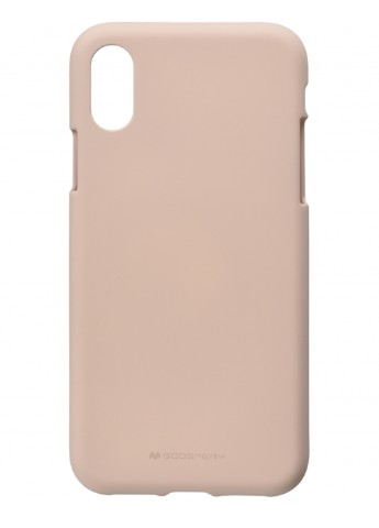 Купить чехол  Goospery для Apple iPhone X/XS. SF Jelly. PINK SAND за 98 грн в Интернет-магазине Kasta - Киев, Украина (142339031)