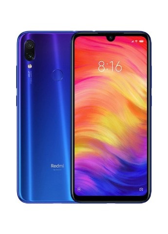 Купить смартфон  Xiaomi Redmi Note 7 4/128GB Neptune Blue за 5599 грн в Интернет-магазине Kasta - Киев, Украина (149353265)