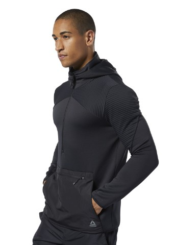 толстовка Reebok ThermoWarm Control Hoodie TRAINING APP MEN REEBOK TRAINING