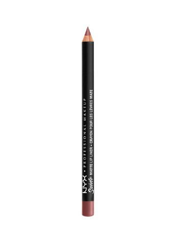 Карандаш для губ Suede Matte Lip Liner Whipped Caviar, 1,13 г NYX Professional Makeup