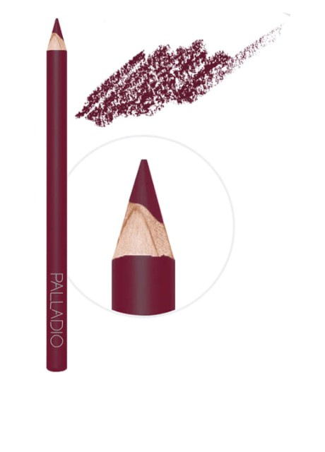 Карандаш для губ LIP LINER PENCIL, 302 Raisin, 1,2 г Palladio - Фото
