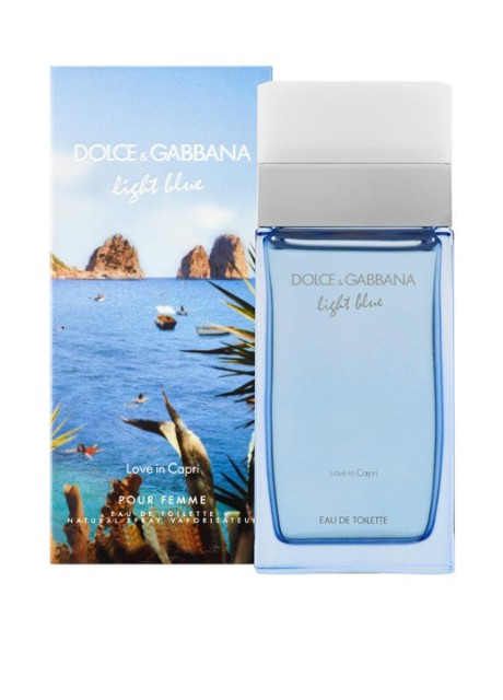 "Туалетная вода ""DOLCE&GABBANA LIGHT BLUE LOVE IN CAPRI"", 1,5 мл Dolce & Gabbana - Фото"