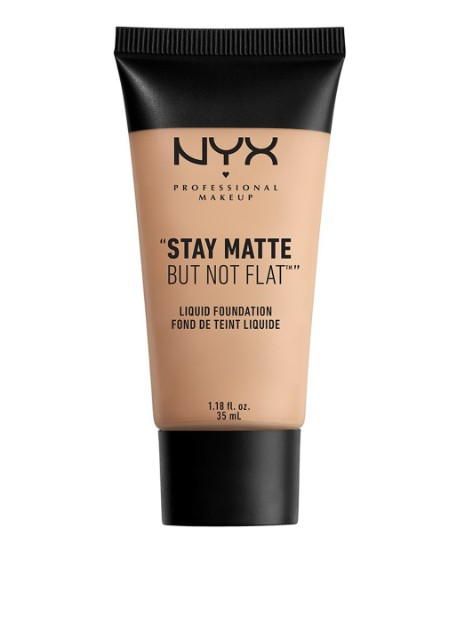 Тональная основа Stay Matte But Not Flat Liquid Foundation 17 Warm, 35 мл NYX Professional Makeup - Фото