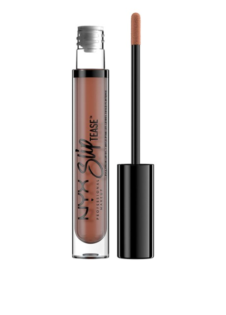 Масло для губ Тонирующее Slip Tease Full Color Lip Oil Beyond Basic, 4 мл NYX Professional Makeup - Фото