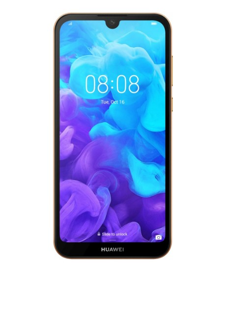Смартфон Huawei Y5 2019 2/16GB Amber Brown (POT-Lх1) - Фото
