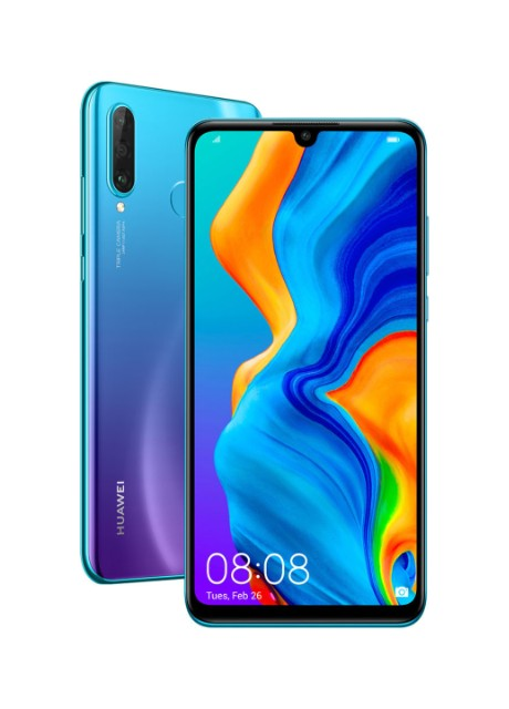 Смартфон Huawei P30 Lite 4/128GB Peacock Blue (MAR-Lх1A) синий - Фото