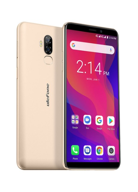 Смартфон Ulefone Power 3L 2/16GB Gold - Фото