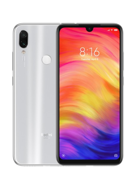 Смартфон Xiaomi Redmi Note 7 4/64GB Moonlight White - Фото