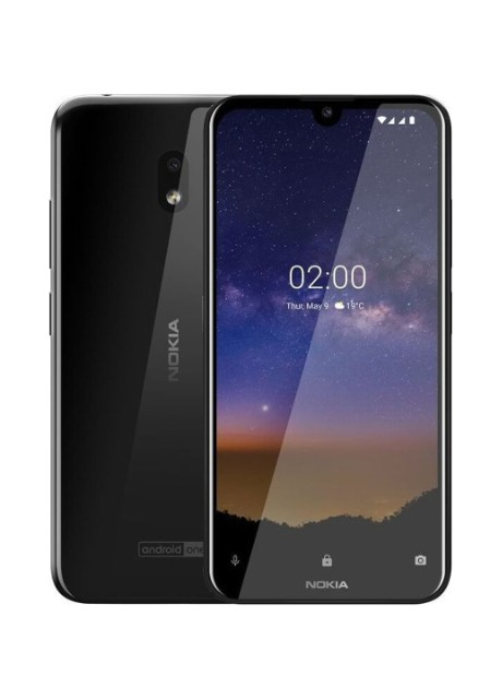 Смартфон Nokia 2.2 2/16GB Black - Фото