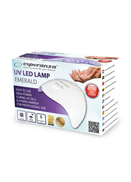 LED лампа Esperanza UV LED Lamp EBN008 белая - Фото