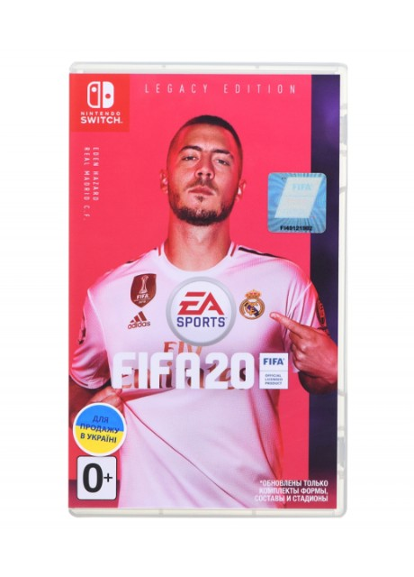 Игра Switch FIFA20 Legacy Edition Games Software ❖ Купить на Kasta ❖ (150134273)