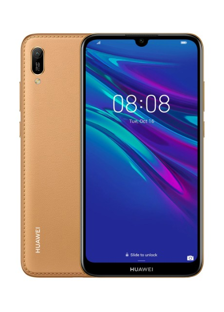 Смартфон Huawei Y6 2019 2/32GB Amber Brown (MRD-Lх1) - Фото